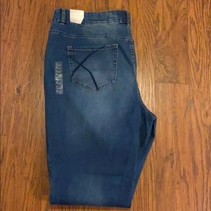 Lane Bryant boot cut jeans with t3 technology